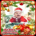 Photo Frame Christmas New Year 2018 icon
