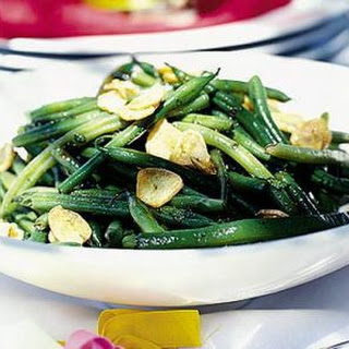 Dairy Free Minted Green Bean Salad