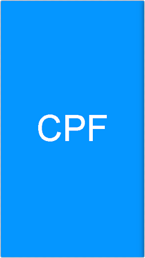 CPF Generator and Validator