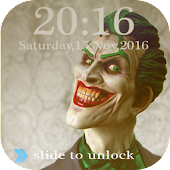 Joker lock screen cool