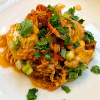 Spaghetti Squash Enchilada Casserole