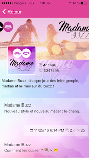 Madame Buzz - náhled