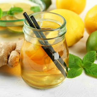 Ginger Tea Recipe For Nausea & Wellness + Getting The Right Nutrition During Pregnancy.