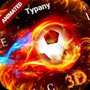 Animated Football Craze Keyboard Theme