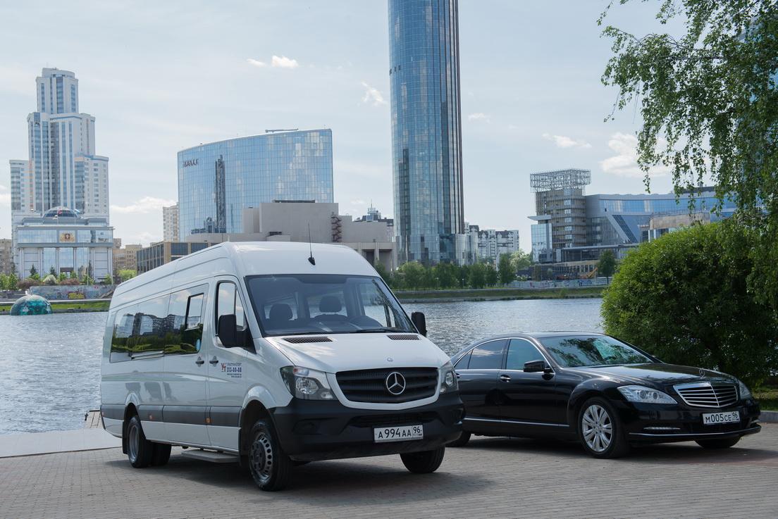 Mercedes Sprinter в Екатеринбурге