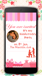 Download Anniversary Invitation Card Maker For PC Windows and Mac apk screenshot 1