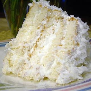 Easy Coconut Refrigerator Cake.