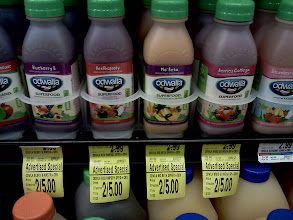Photo: One of our favorites is the Odwalla smoothies, but we don't need them this time.