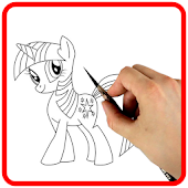 How to Draw My Cute Pony Easily
