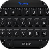 Piano Black Theme Keyboard