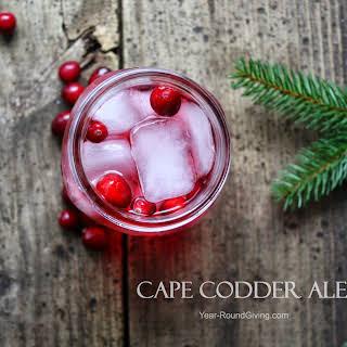 Cape Codder Ale Cocktail.