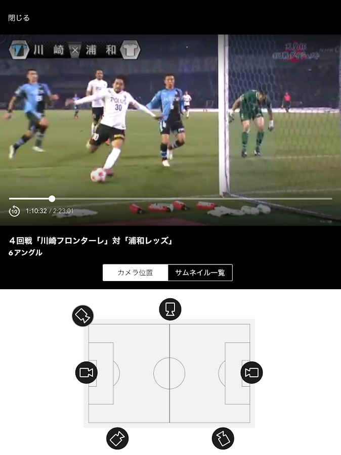NHK Sports- screenshot