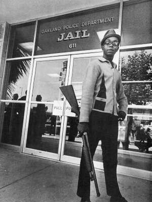 Photo: Bobby Hutton (April 21, 1950 – April 6, 1968), the first recruit to the Black Panther Party.