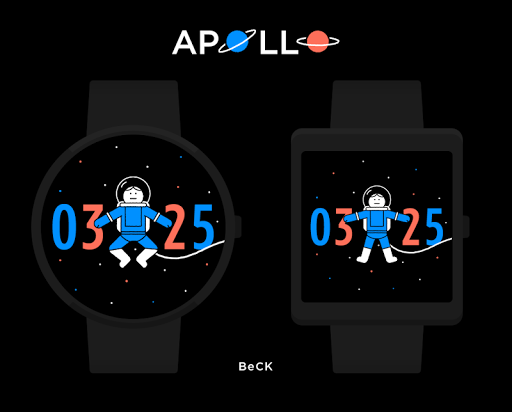 Apollo watchface by BeCK