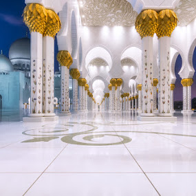 Grand Mosque  by Sebastian Tontsch - Buildings & Architecture Public & Historical ( grand mosque, mosque, uae, abu dhabi, architecture )