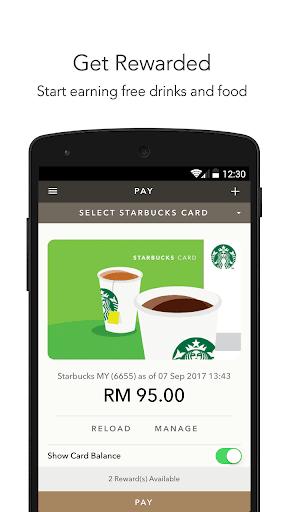 Starbucks Malaysia  screenshots 1