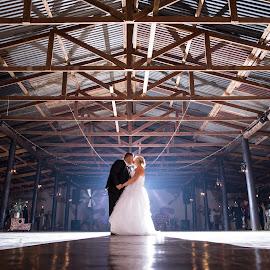 First Dance by Nici Pelser - Wedding Bride & Groom ( bride, groom, night photograpy, wedding, dance )