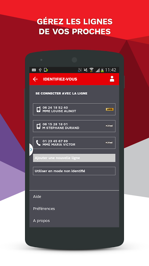 SFR Mon Compte - screenshot