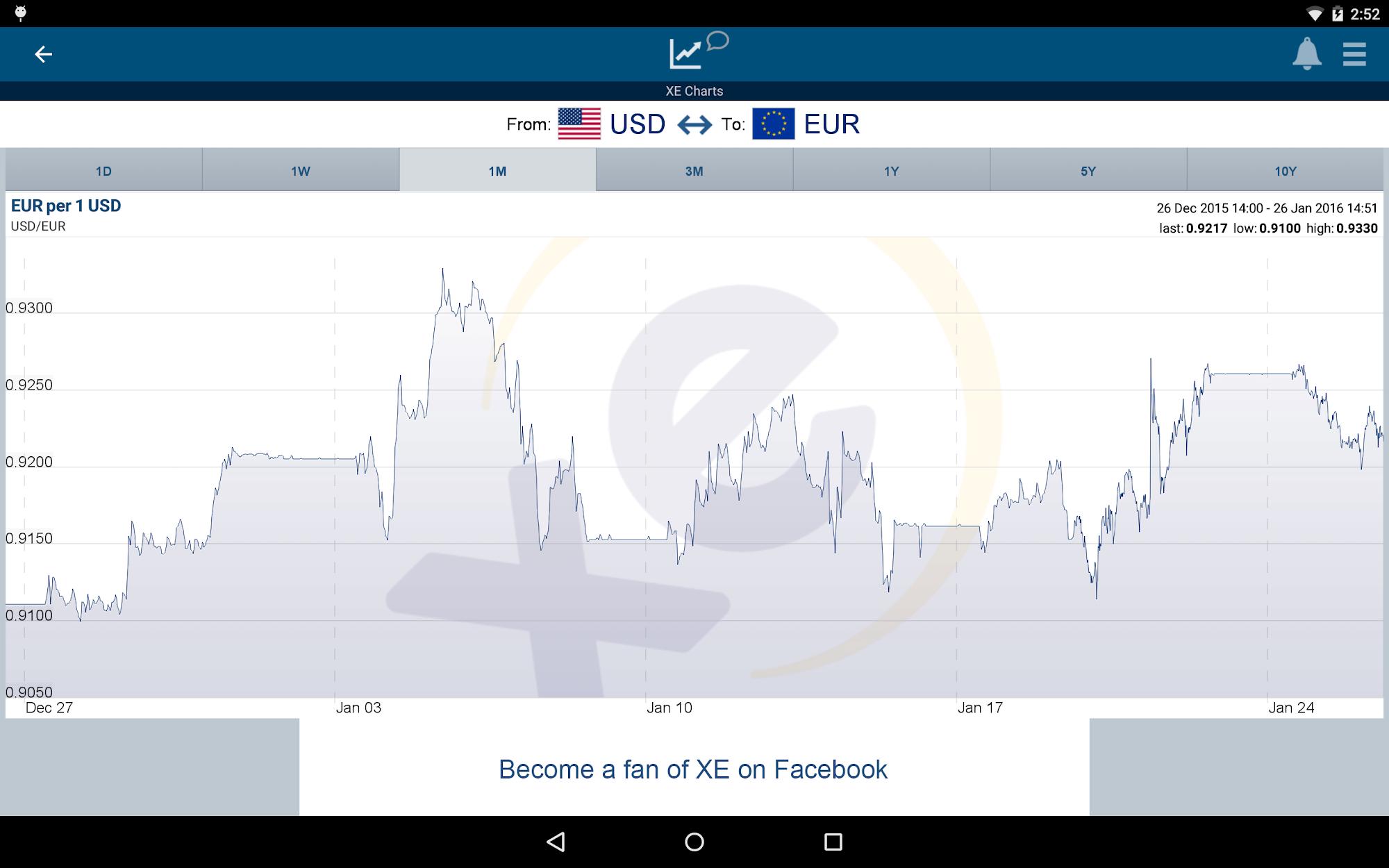 XE Currency screenshot #7