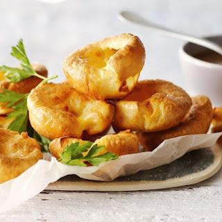 Mini Yorkshire Puddings.