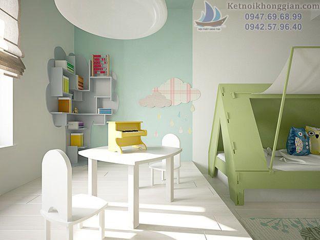thiết kế phòng ngủ phong cách dã ngoại
