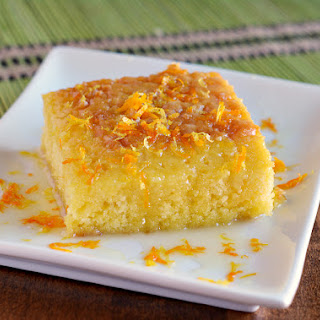 Citrus Glazed Lemon Poke Cake