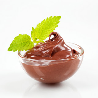 Chocolate Avocado Mousse.