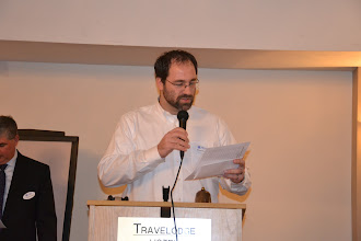 Photo: ASHRAE OVC March Meeting - Steve Moons welcoming new members