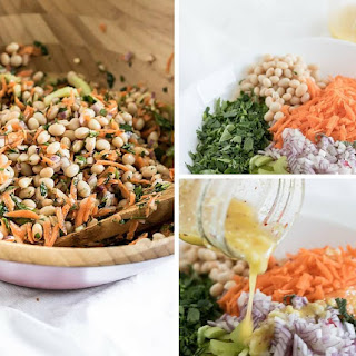 Lemon and Herb Summer Bean Salad