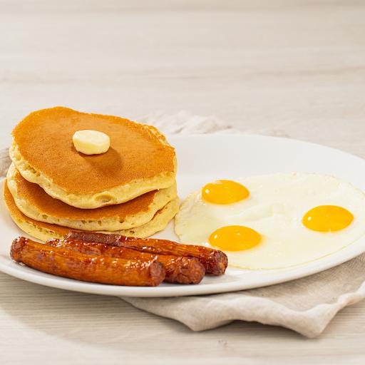 Pancake & 3 Eggs