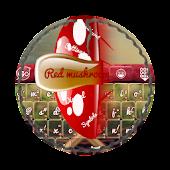 Red mushroom GO Keyboard