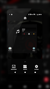 PitchBlack | DarkRed CM13/12- screenshot thumbnail