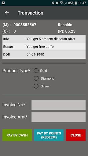 Blue Ocktopus V3- Retail Loyalty screenshot 2