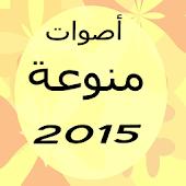 أصوات منوعة 2015