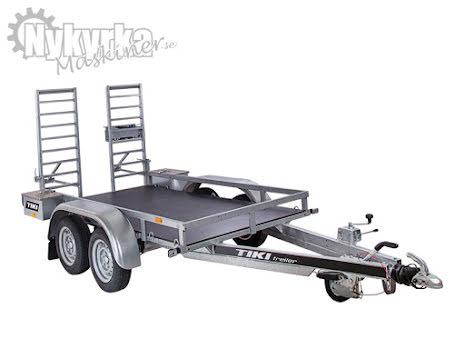TIKI TP250 DRB | Totalvikt 2750kg | Maskinsläp