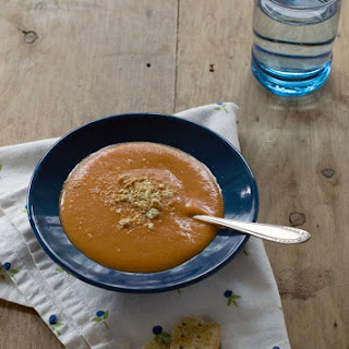 Quick and Easy Creamy Tomato Soup.