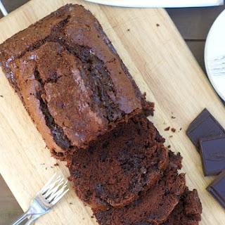 Quadruple Chocolate Loaf Cake.