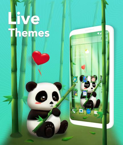 Download Magic Launcher - Memoji & 3D Theme, Live Wallpaper For PC 2