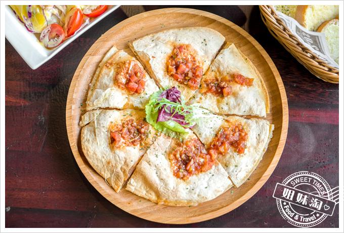莎露烘焙餐廳番茄燻雞起士墨西哥餅