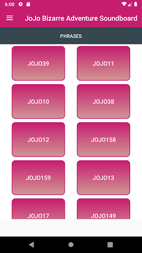JoJo Soundboard App Report on Mobile Action - App Store