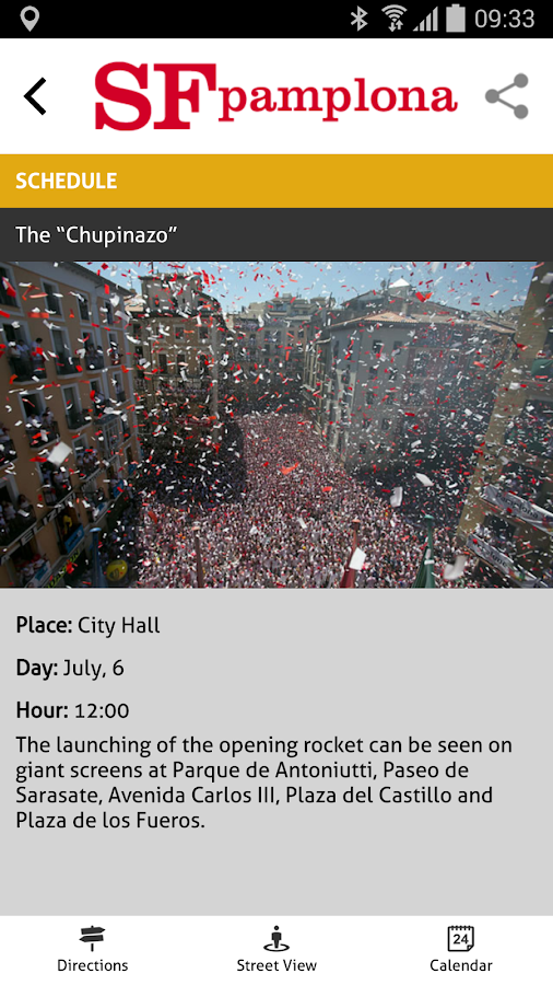 San Fermín Pamplona- screenshot