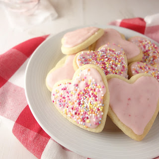 Strawberry Sugar Cookies Recipe