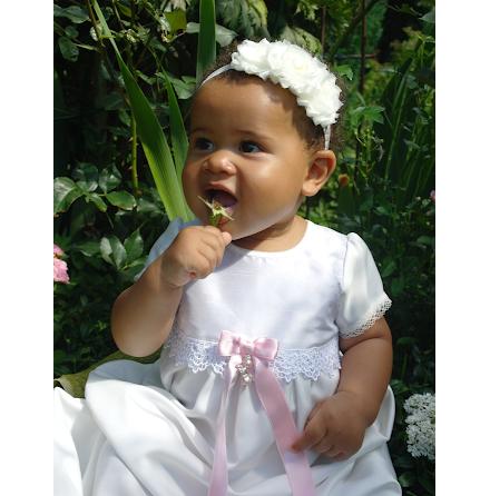 Dopklänning - Princess