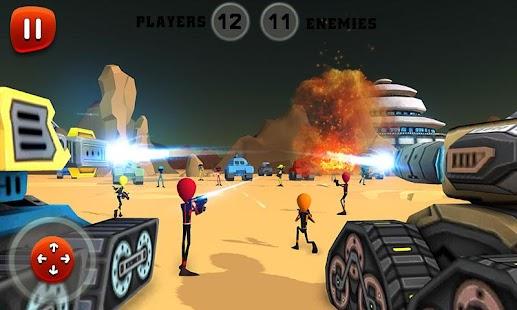 Creepy Aliens Battle Simulator 3D- screenshot thumbnail
