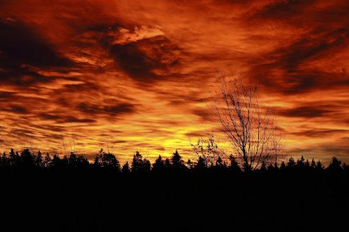 Rising drama by Juliusz Wilczynski - Landscapes Sunsets & Sunrises (  )