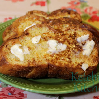 French Toast with Vanilla Butter.
