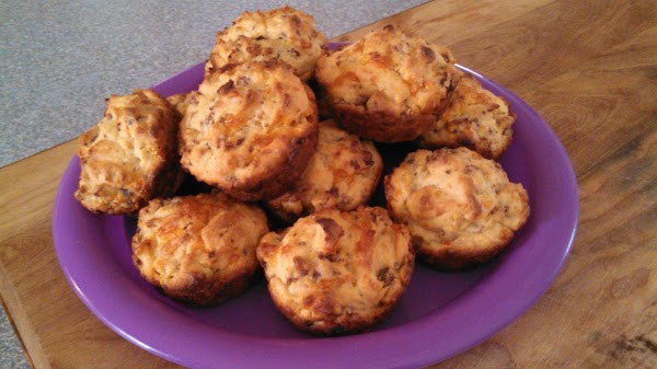 Makes 24 regular sized muffins OR 52 mini muffins