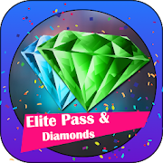 Win Elite Pass & Diamond For Free Fire