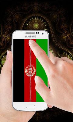 Afghanistan flag Lock Screen - screenshot
