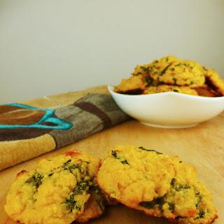 Pumpkin Basil Biscuits (Gluten-free, Low Carb)